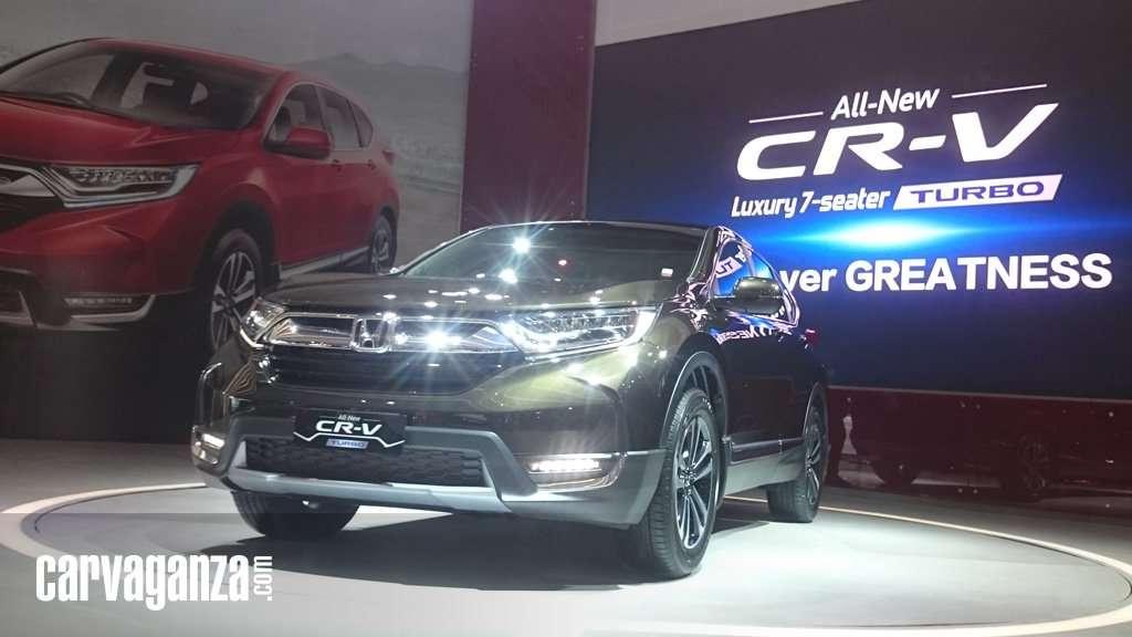 All New Honda CR-V Terjual 100 Unit Per Hari di IIMS 2017