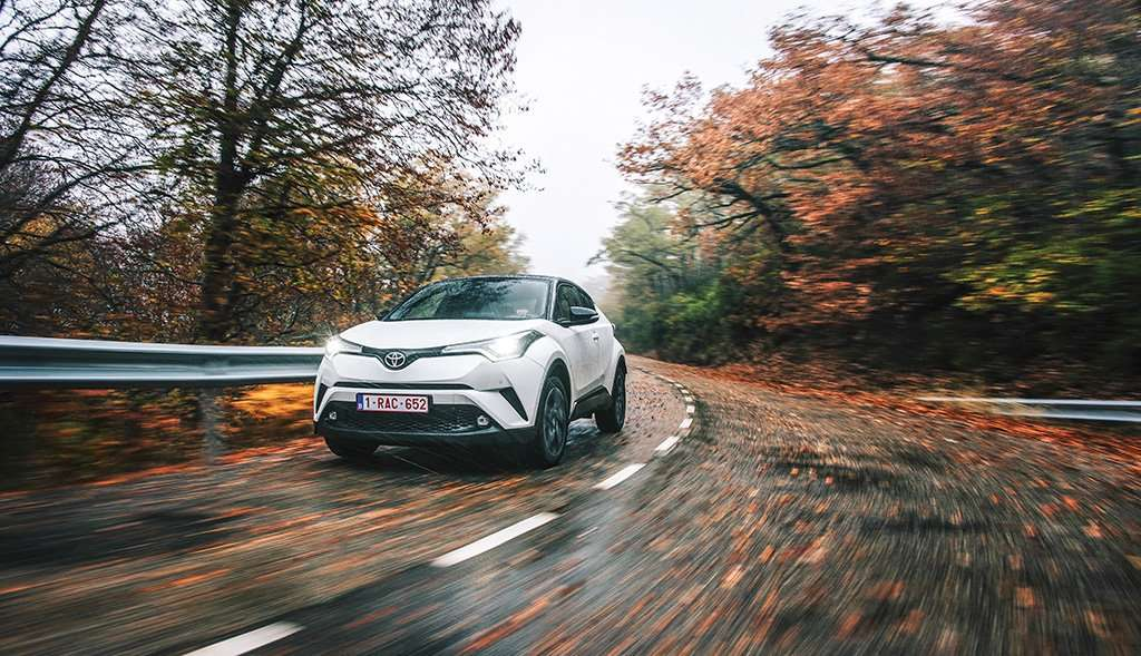 Toyota C-HR, Coupe-like Crossover
