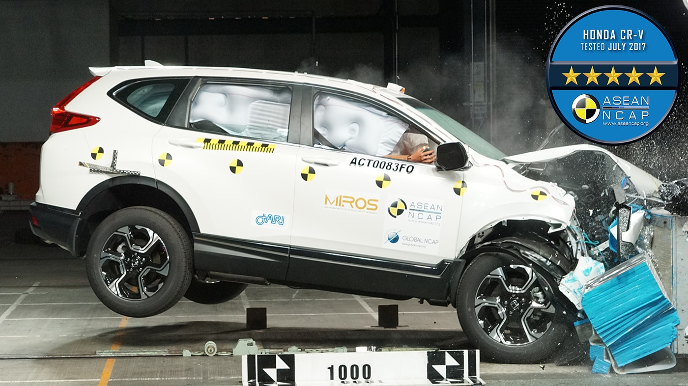 All New Honda CR-V Raih 5 Bintang di ASEAN NCAP