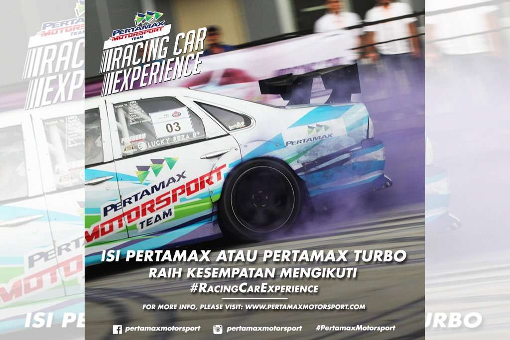 Yuk Ikutan Pertamax Motorsport Racing Car Experience di GIIAS 2017