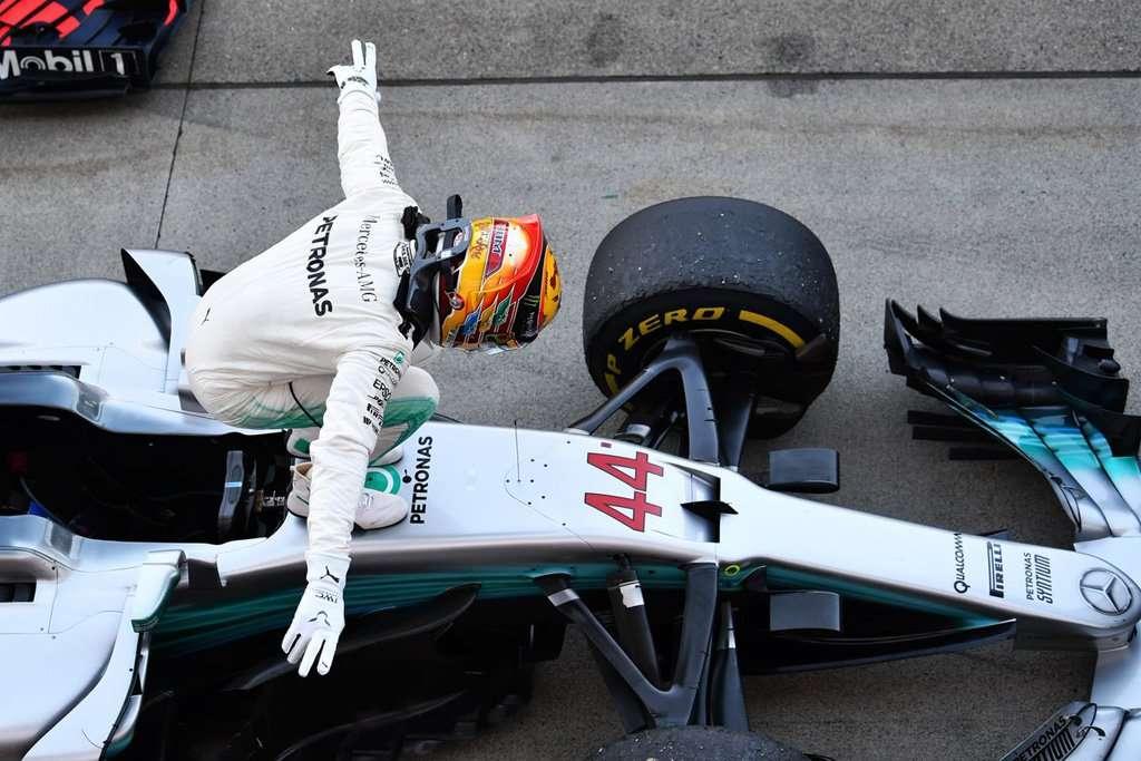 F1: Unggul 57 Poin dari Vettel, Hamilton Bisa Juara di Austin