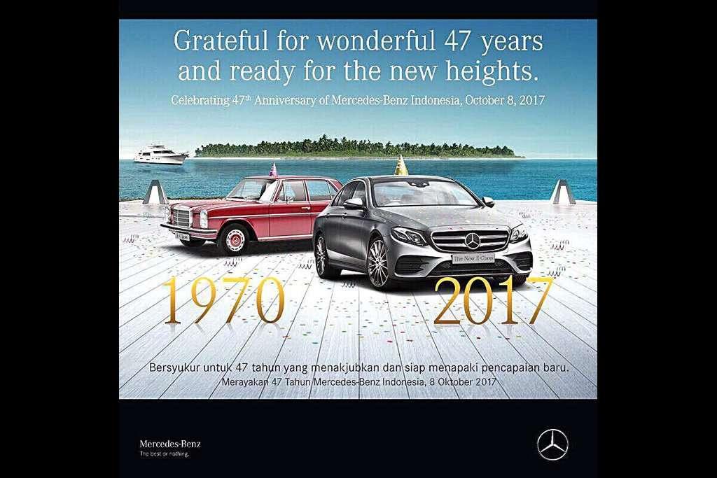 Mercedes-Benz Indonesia Rayakan Ulang Tahun ke-47