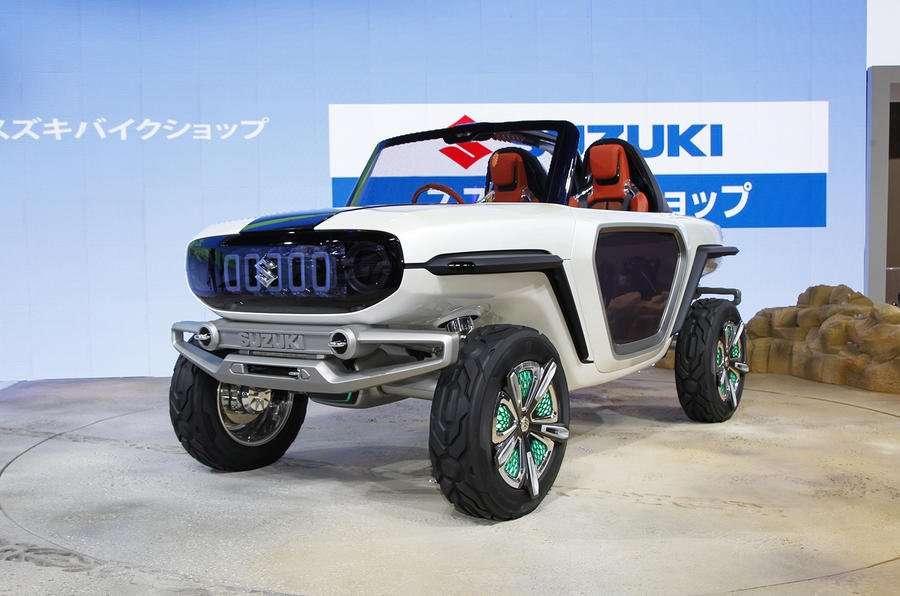Suzuki e-Survivor SUV Concept, Mobil Off-Road Bertenaga Listrik