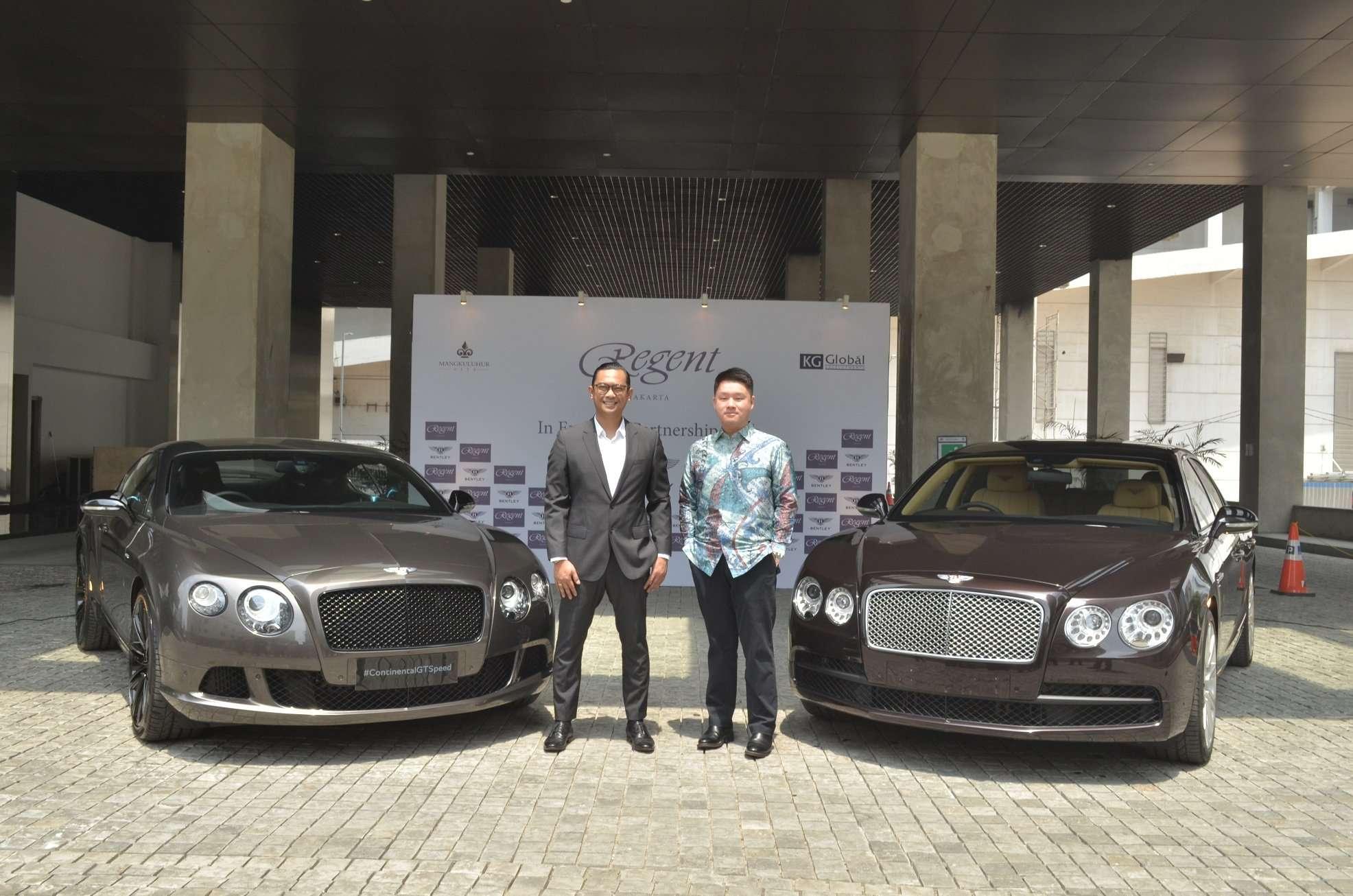 Bentley Jadi Shuttle Limousine Regent Hotel & Residence