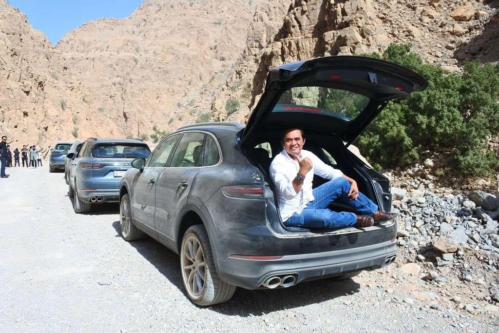 Menjelajahi Pegunungan Oman dengan Porsche Cayenne 2018 (BAG. 1)