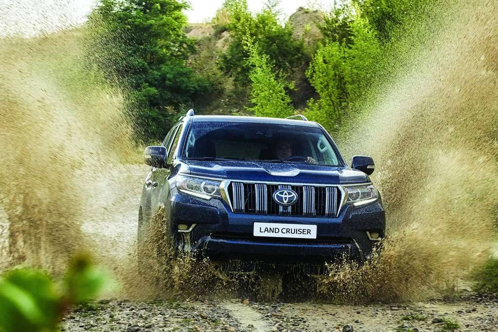Toyota Land Cruiser Prado 2018, Dirty Jumper
