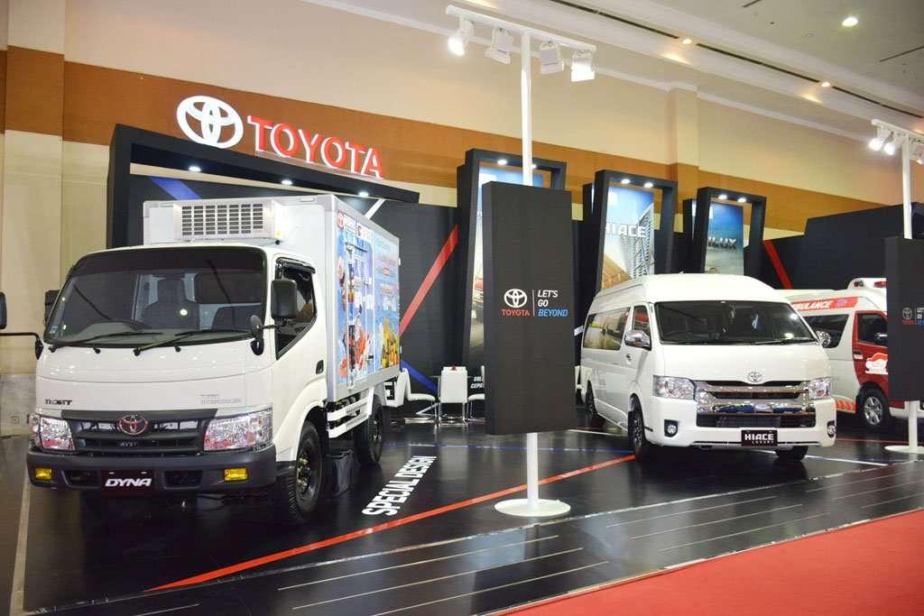 Toyota Hanya Bawa 4 Kendaraan Komersial di GIICOMVEC 2018