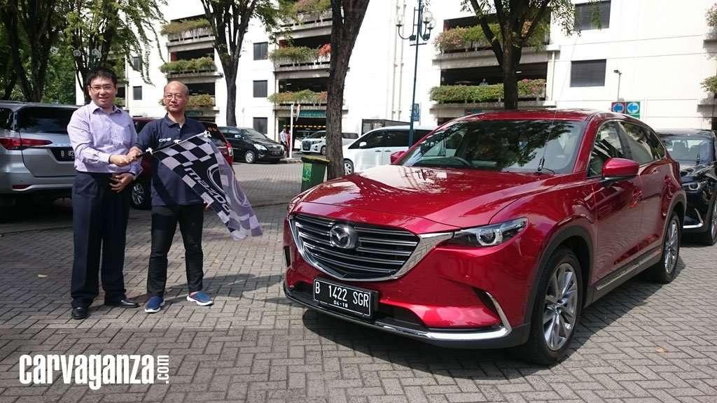 Menikmati Jakarta dengan All-New Mazda CX-9