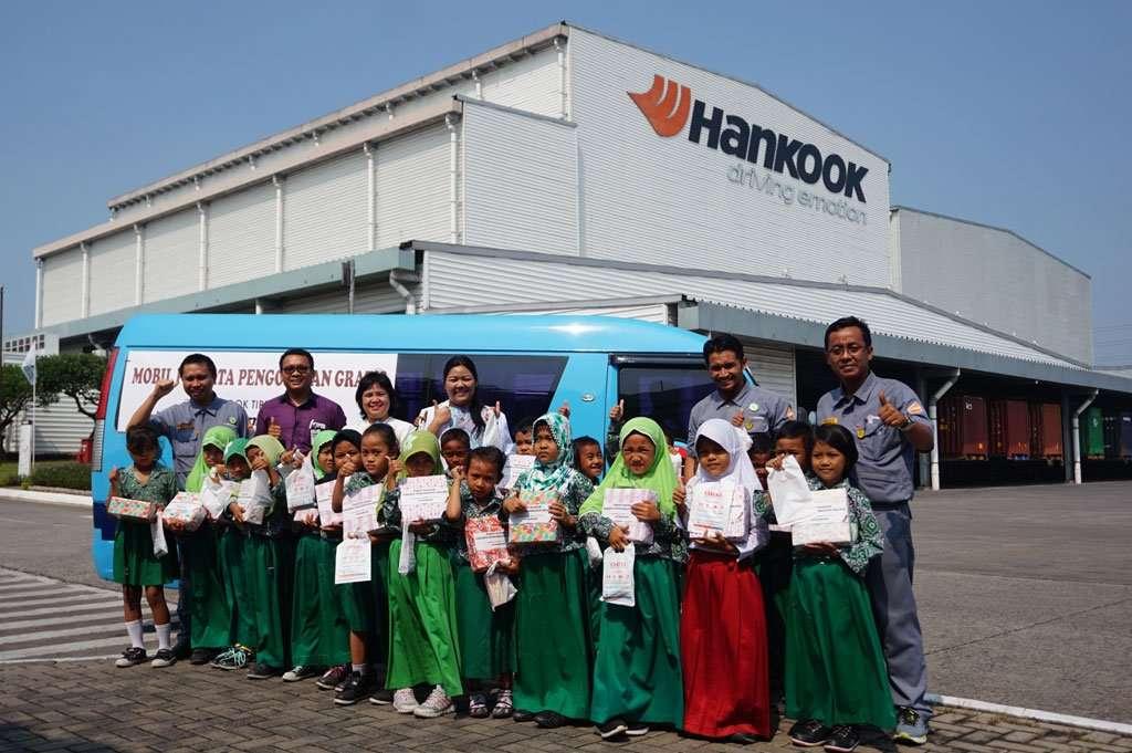 Hankook Tire Indonesia Gelar Pengobatan Gratis untuk Anak-Anak SD