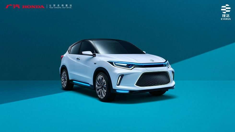 Debut Honda Everus EV Concept di Beijing Motor Show 2018