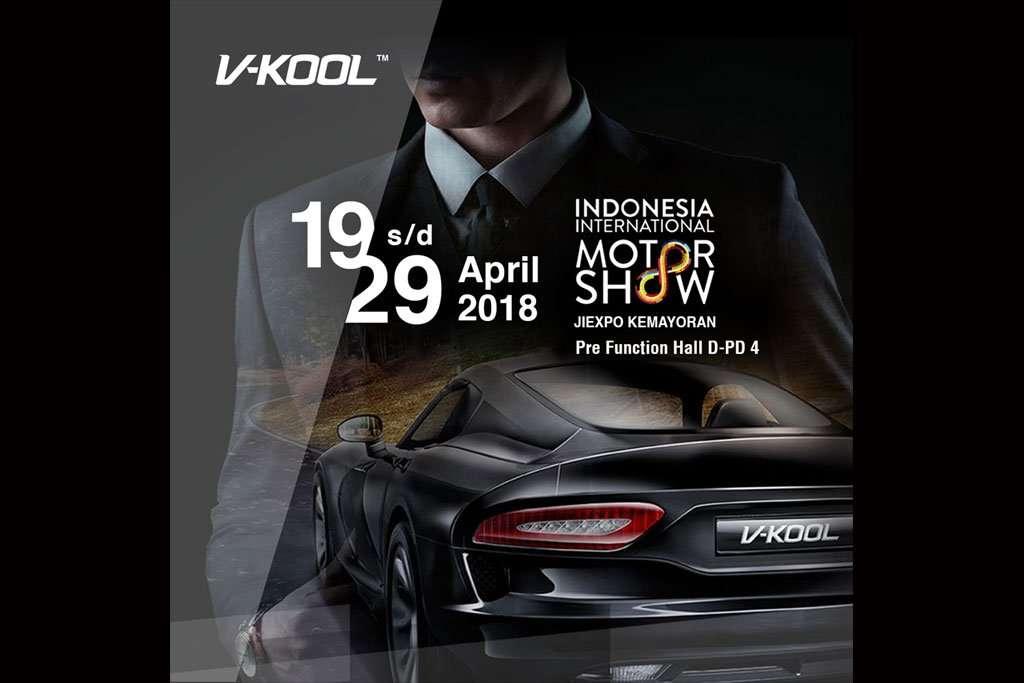 V-KOOL Hadirkan Promo dan Paket Kaca Film Terbaik di IIMS 2018