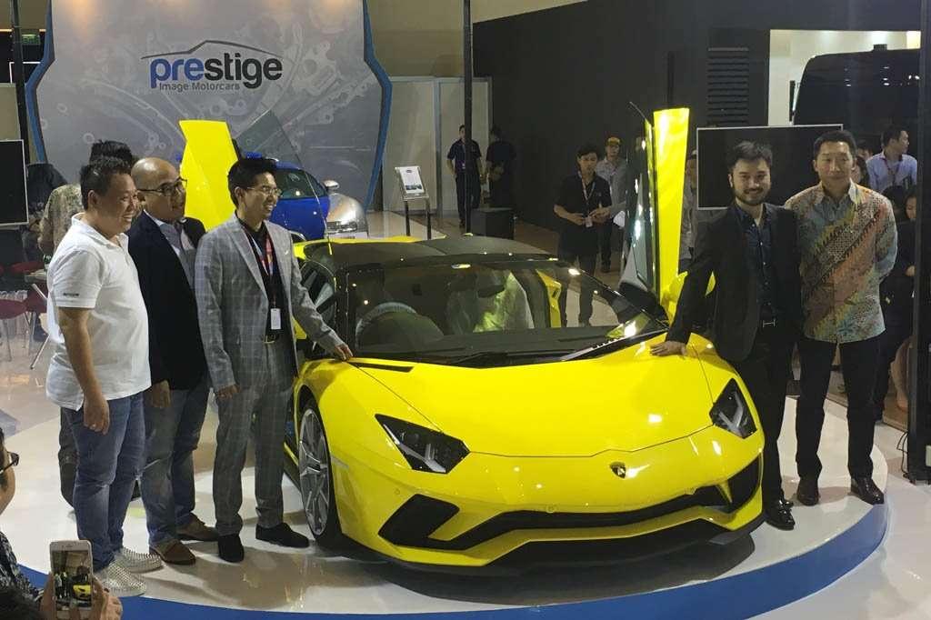 Prestige Motorcars Bawa Lamborghini Aventador S Roadster ke IIMS 2018