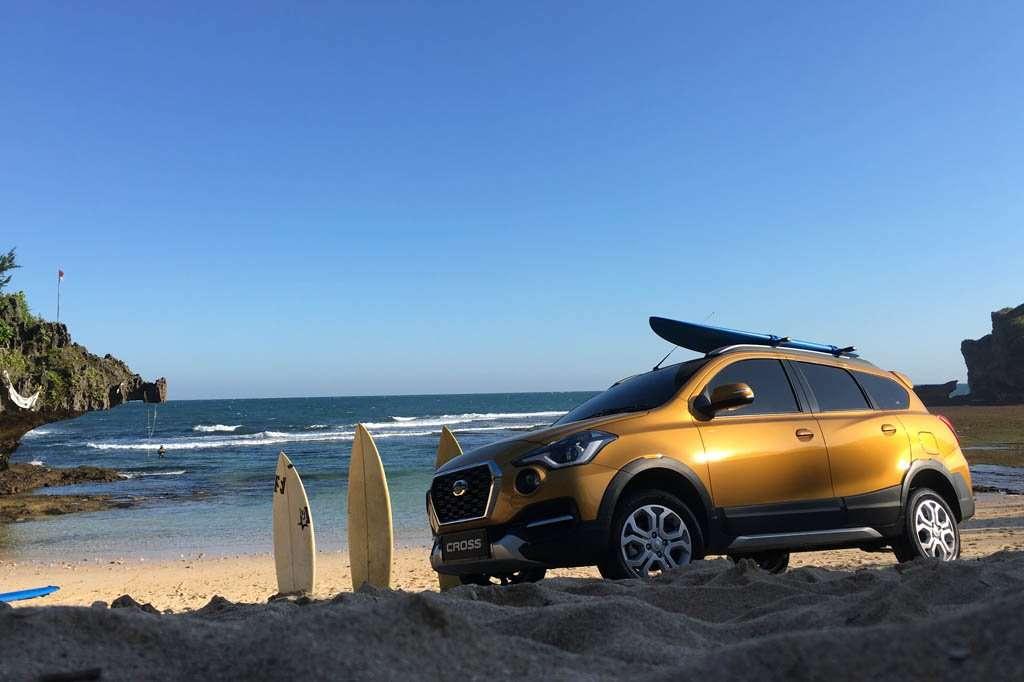TEST DRIVE: Datsun Cross Jelajah Pantai Selatan Yogyakarta