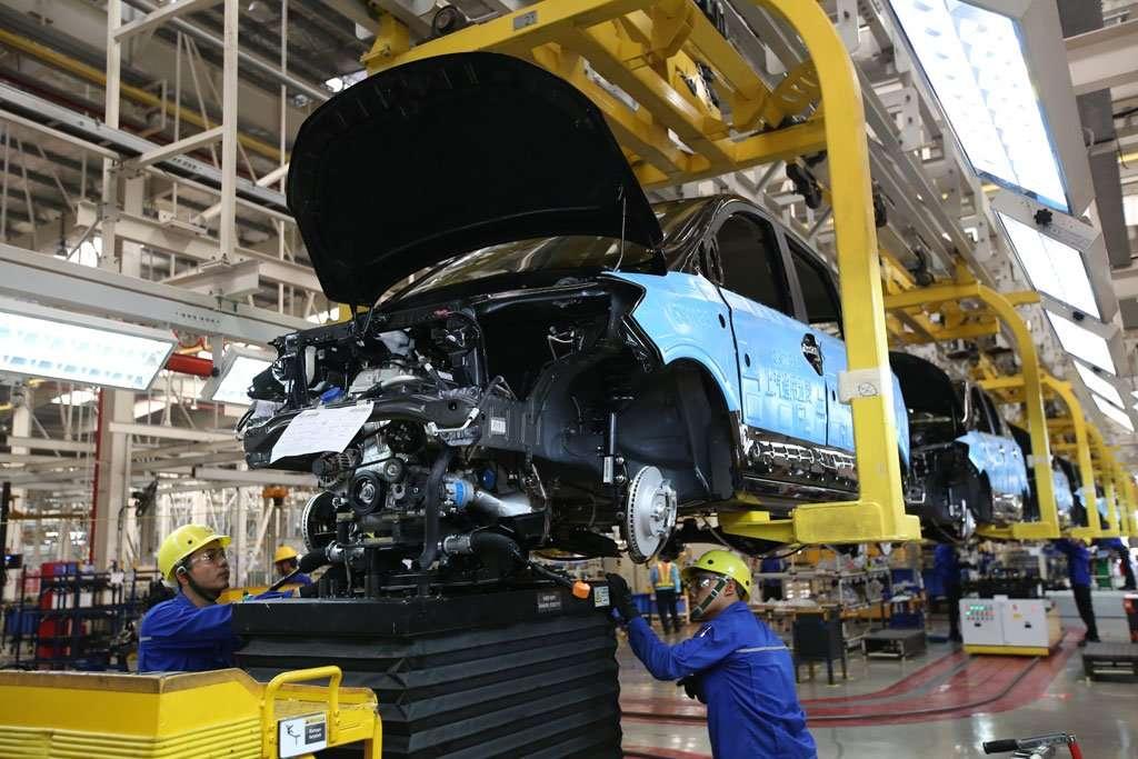 Mengintip Pabrik Wuling Motors di Cikarang