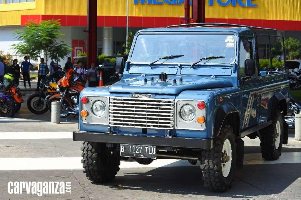 Land Rover Jokowi Ikut Tampil di The 2nd Indonesia Autovaganza