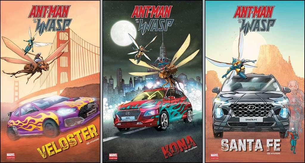 Mobil-Mobil Hyundai Ikut Beraksi di Film Ant-Man and The Wasp