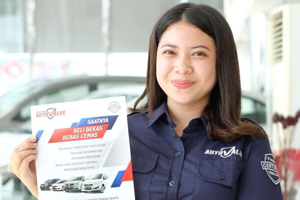 Mobkas Suzuki Bisa Dicicil Rp 30 Ribu per Hari di Suzuki Auto Value