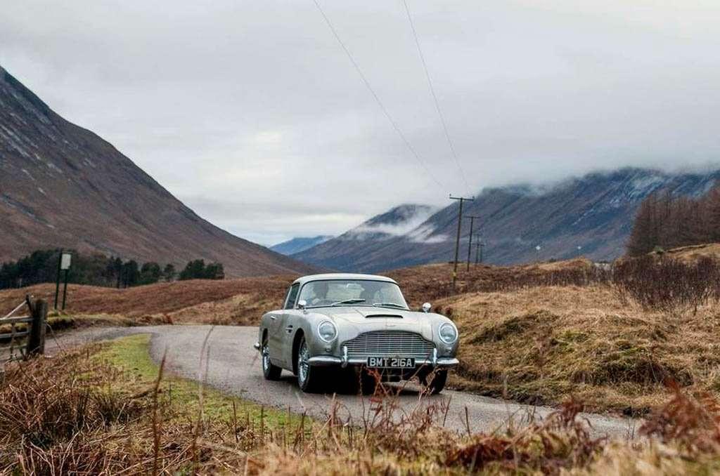 Aston Martin akan Buat Lagi 25 Unit DB5 Spek James Bond