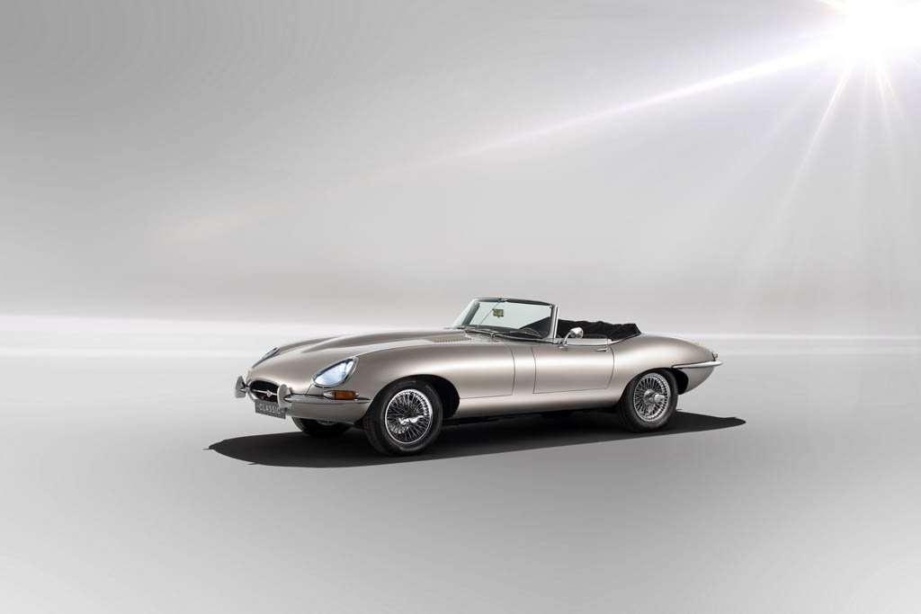 Bertenaga Listrik, Jaguar E-Type akan Dibuat Lagi