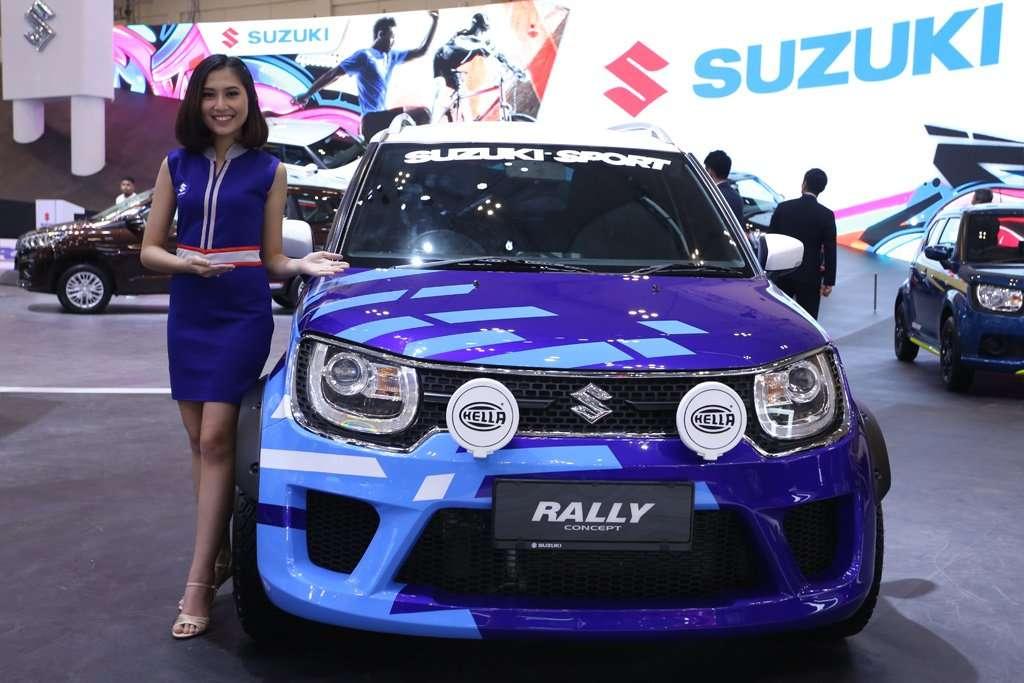 Suzuki Ignis Concept Rally, City Car Berkecepatan Tinggi
