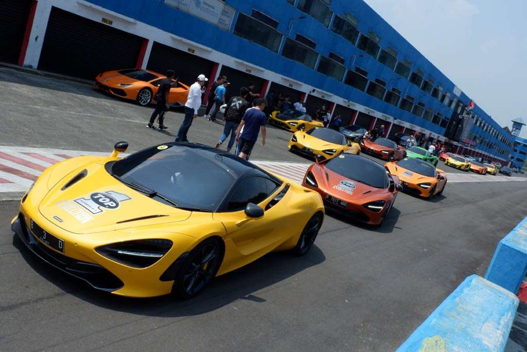 Drag Race di Sentul, Cara McLaren Club Indonesia Eratkan Silaturahmi