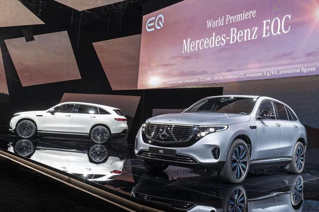 Luncurkan EQC, Mercedes-Benz Ogah Nafsu Produksi Mobil Listrik