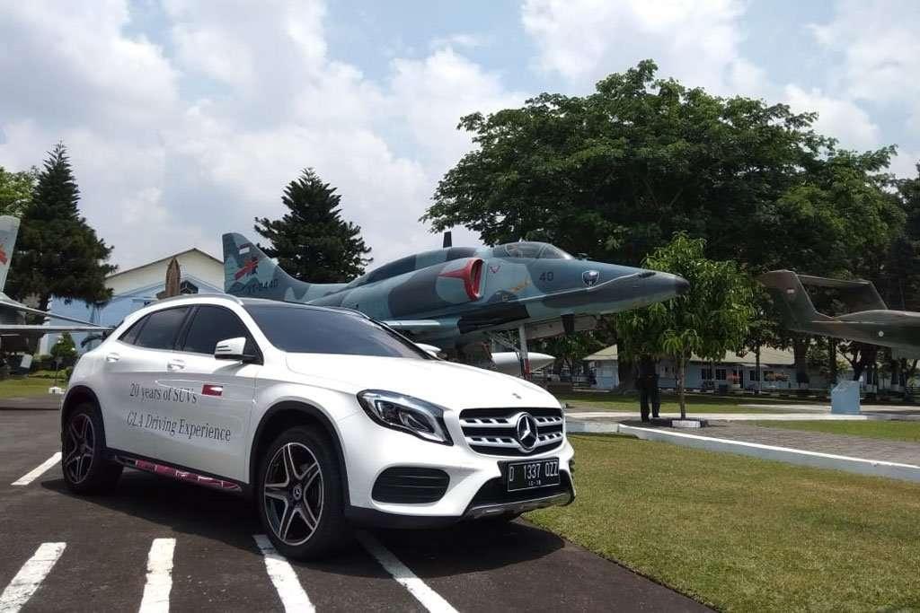 Menjajal Mercedes-Benz GLA 200 AMG Line di Yogyakarta