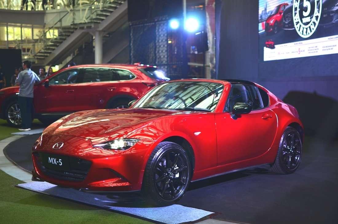 Mazda Tingkatkan Tenaga MX-5 Terbaru