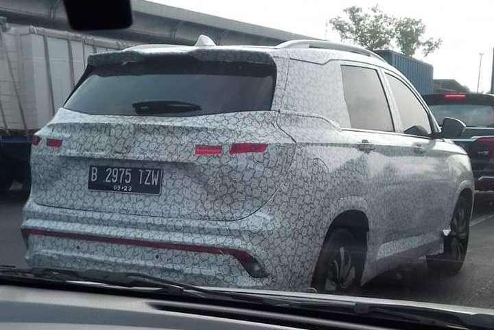 SPYSHOT: Wuling SUV Mulai Cicipi Aspal Indonesia