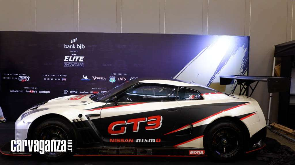 Nissan GT-R GT3 Jadi Ikon The Elite Showcase 2018