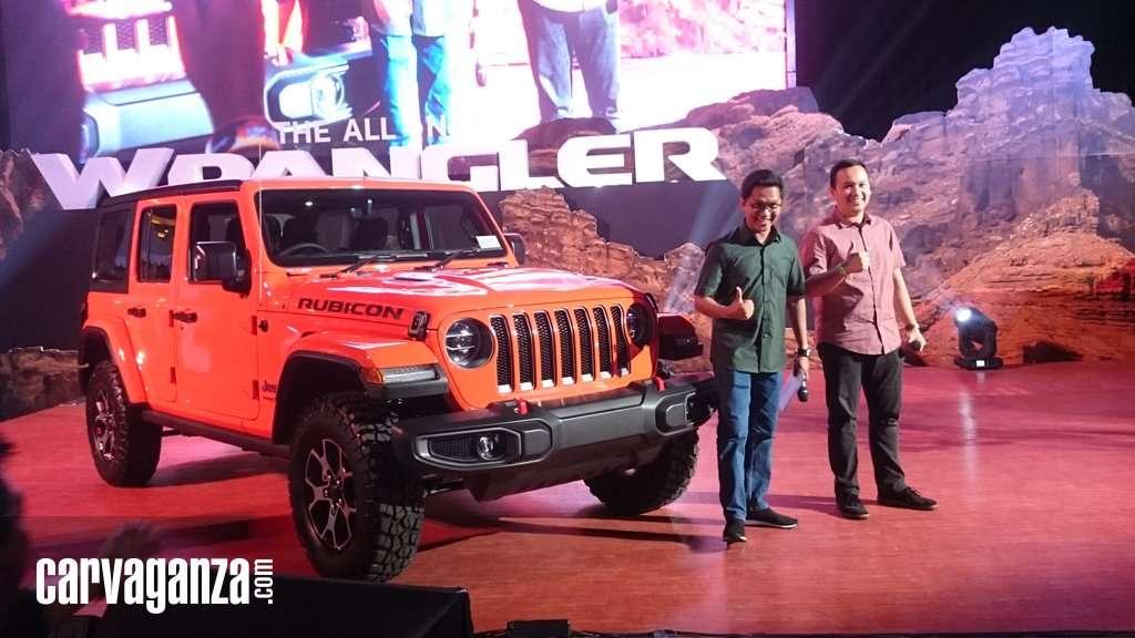 All New Jeep Wrangler Meluncur, Bangkit di Bawah Bendera Baru