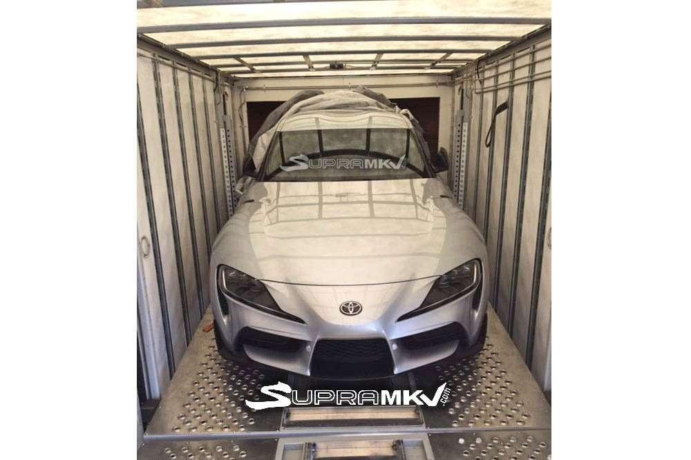 Bocor! Ini Penampakan Toyota Supra Versi Produksi