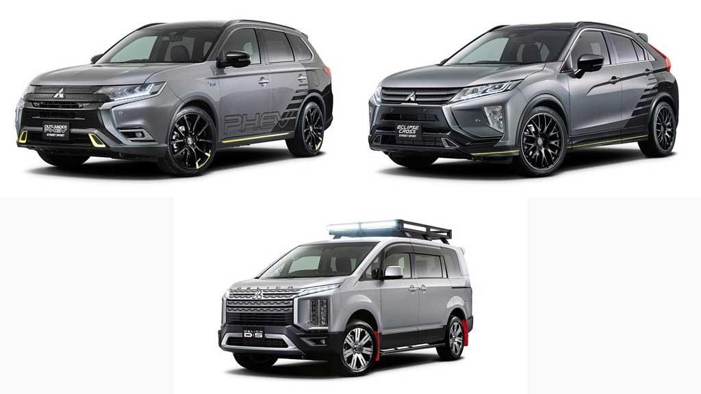 Ini Tiga Model Andalan Mitsubishi di Tokyo Auto Salon 2019