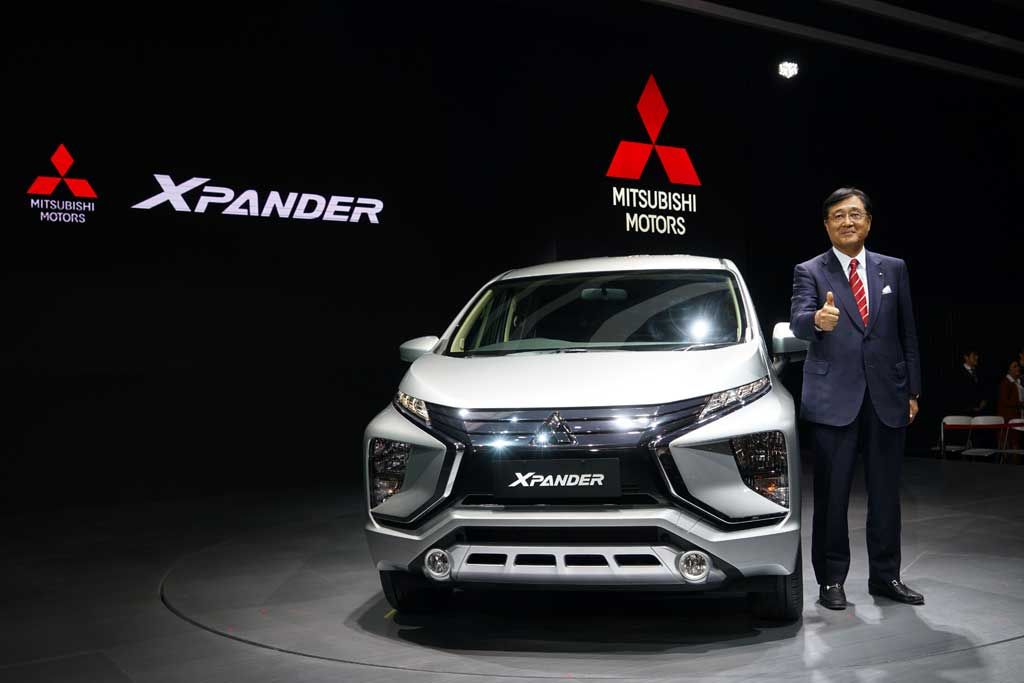 Mitsubishi Xpander Kalahkan Avanza di Segmen Small-MPV di Indonesia