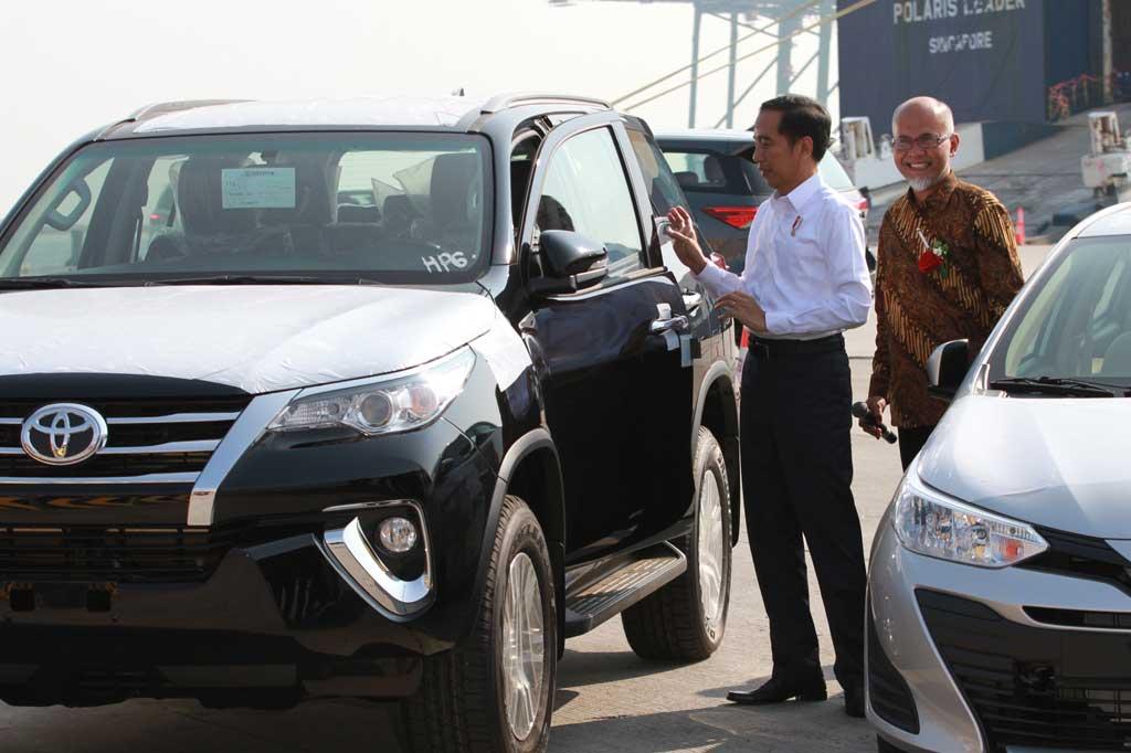 Rekor Baru, Ekspor Toyota Indonesia 206.600 Unit di 2018