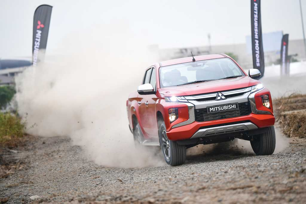 TEST DRIVE: New Mitsubishi Triton, Stoutly Trotter