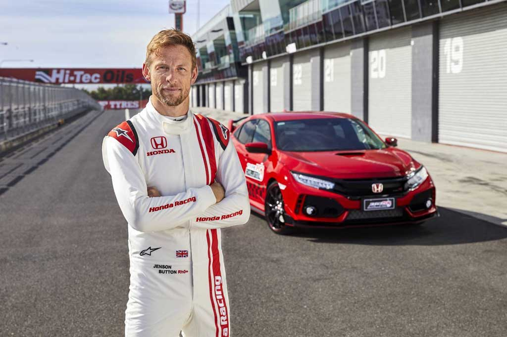 Geber Honda Civic Type R, Jenson Button Bikin Rekor Lap Time