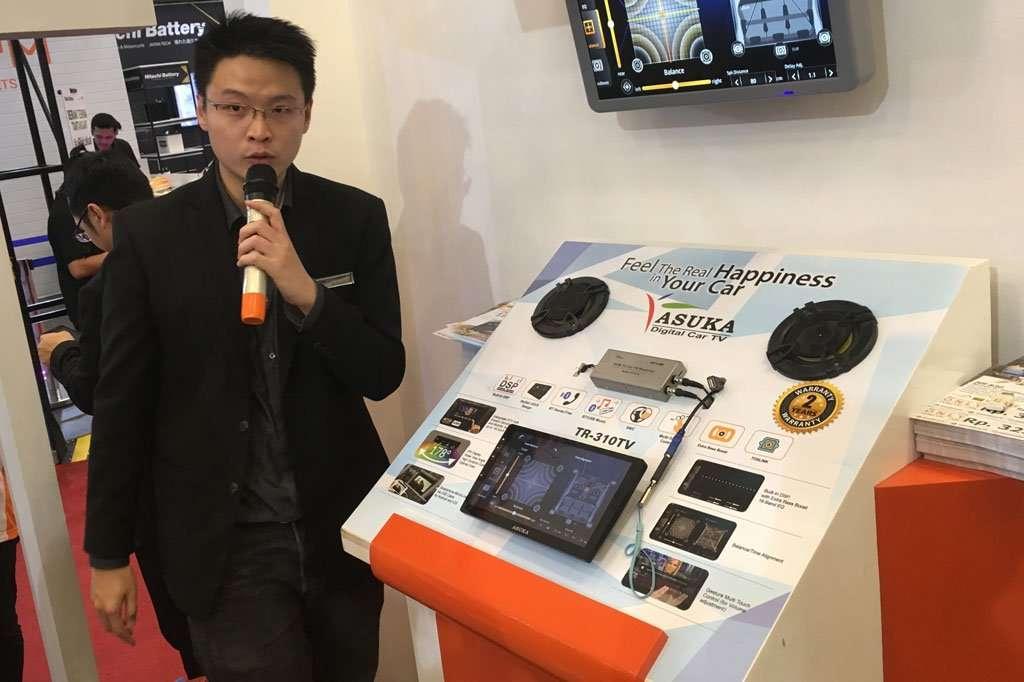 Asuka TV Rilis Head Unit Canggih dan Sensor Ban