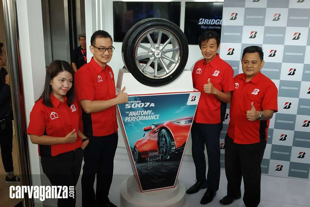 Bridgestone Luncurkan Potenza S007A Ban High Performance di GIIAS 2019