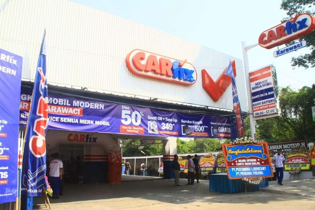 Garap Kawasan Tangerang, CARfix Buka Outlet di Karawaci