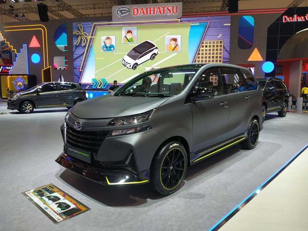 Daihatsu XeniaSport Concept, Modifikasi Gaya Anak Muda Mejeng di GIIAS 2019