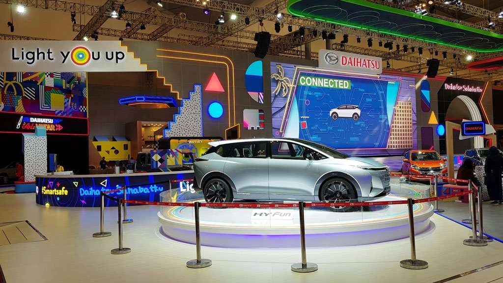 After-Sales Booth Daihatsu di GIIAS 2019 yang Bernuansa Youth and Fun