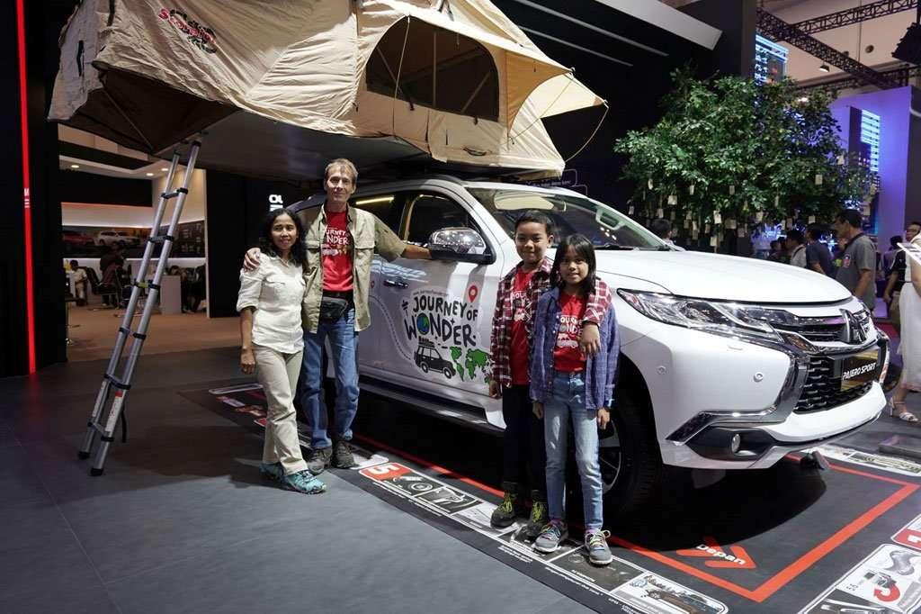 Ini Alasan Keluarga Eelco Berkeliling Dunia dengan Mitsubishi Pajero Sport