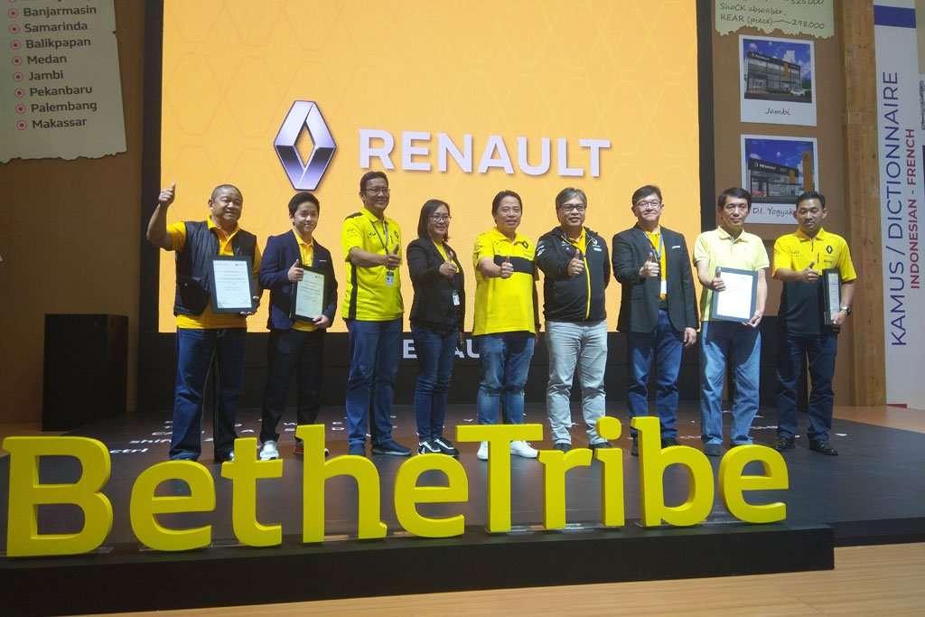Maxindo Renault Indonesia Perkenalkan 8 Dealer Renault di GIIAS 2019