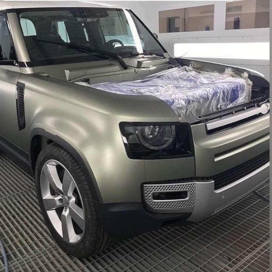 Bocor! Begini Tampang Land Rover Defender Terbaru