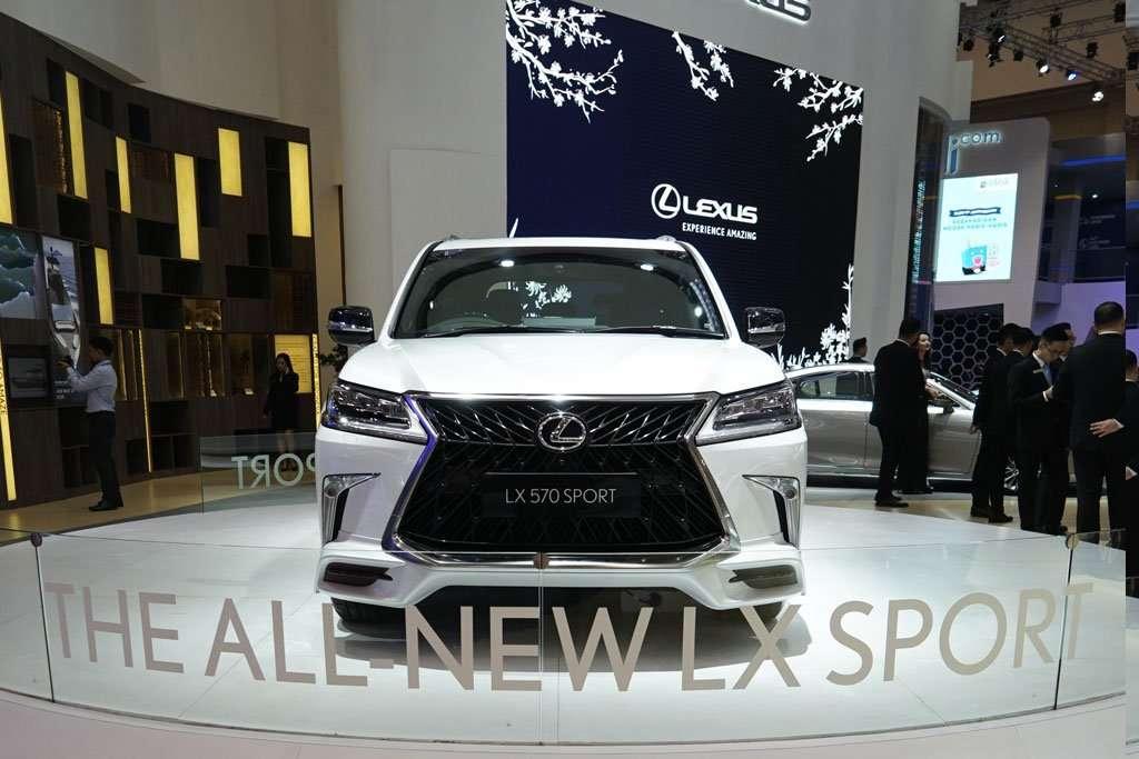 Lexus LX 570 SPORT, Mobil 'Termahal' di GIIAS 2019