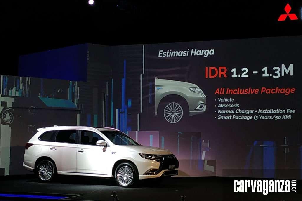 Wow, Mitsubishi Outlander PHEV Dibanderol Rp 1,2 Miliar? Apa Hebatnya