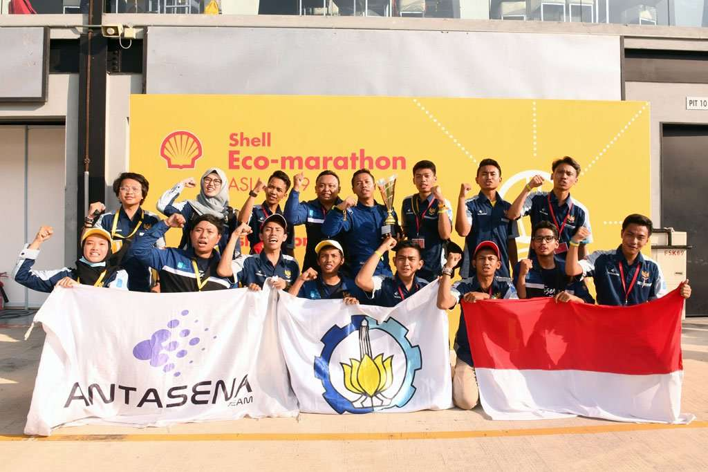 Tim Antasena ITS Wakili Indonesia di Ajang Drivers' World Championship