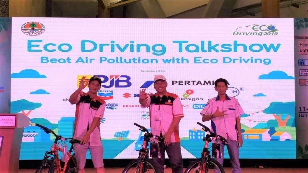 Suzuki Ertiga dan Ignis Juara Fun Rally Eco Driving