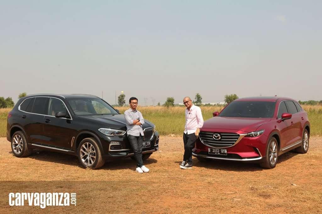 KOMPARASI: Mazda CX-9 2019 VS BMW X5 xDrive40i xLine 2019